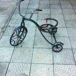 ковка, кованные изделия и элементы, велосипед кованный