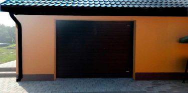 Гаражные секционные ворота бытовые (для дома). Автоматические и ручные.