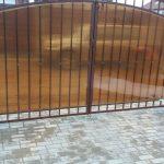 ворота распашные электропривод автоматика для распашных ворот BFT БФТ Вирго VIRGO открывание 120 градусов