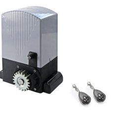 Электропривод An Motors (Ан Моторс) с 2-мя 4-х канальным пультами управления, механический концевой выключатель, шестерня